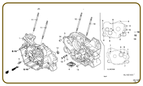HONDA BIG RED - PARTS FICHE